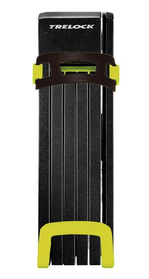 Trelock FS 200 TWO.GO L Faltschloss inkl. Halter gelb